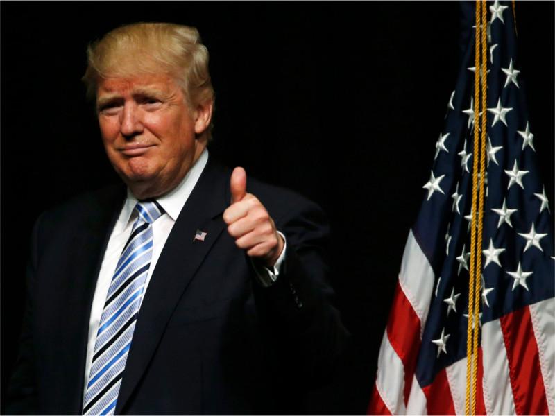 Миллиардер Дональд Трамп - кандидат в президенты США от Республиканской партии