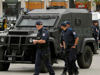 Французский спецназ блокировал российских фанатов, направляющихся на матч со словаками