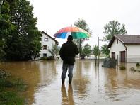 В результате наводнения в Германии и Франции погибли не менее 9 человек