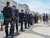 Полиция Рио-де-Жанейро протестует против задержек с выплатой зарплаты, нехватки топлива и туалетной бумаги