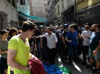 В Стамбуле полиция разогнала ЛГБТ-митинг с помощью резиновых пуль и слезоточивого газа