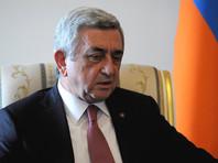 Президент Армении выступил за мирное решение конфликта в Нагорном Карабахе