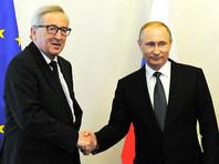 На прошлой неделе пресс-секретарь президента РФ Дмитрий Песков, комментируя встречу в рамках Петербургского международного экономического форума (ПМЭФ) Путина и Юнкера, сообщил, что они не обсуждали санкции