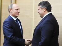 Это будет уже вторая встреча Путина с Габриэлем за несколько месяцев. В прошлый раз они встречались в Москве в октябре 2015 года