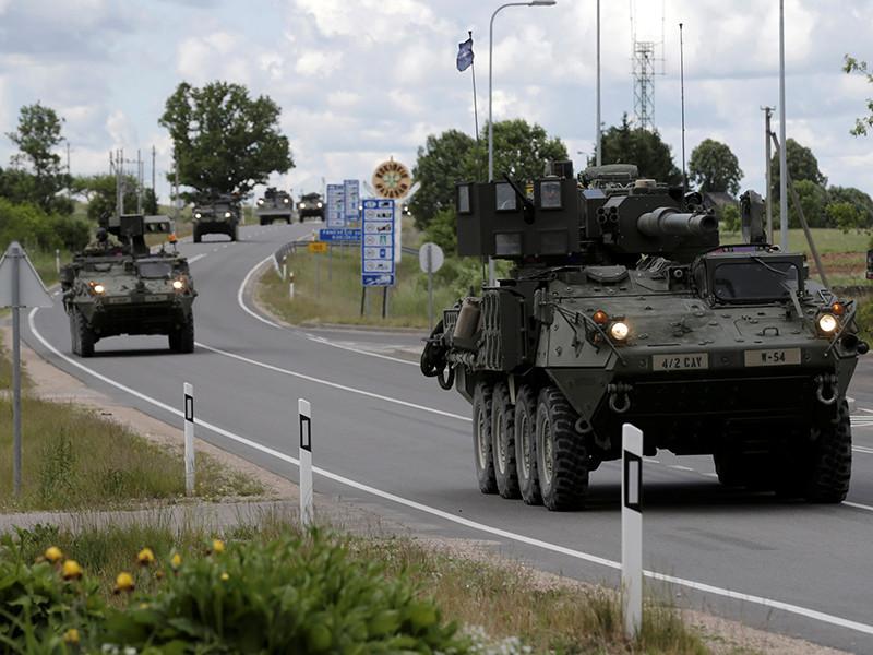 НАТО планирует дислоцировать в Польше и странах Балтии четыре батальона, чтобы обеспечить защиту от России