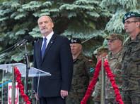 """На церемонии открытия учений министр обороны Польши Антоний Мачеревич заявил, что данные учения """"носят прежде всего оборонительный характер"""""""