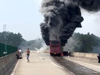 В Китае в автобусе заживо сгорели 30 человек