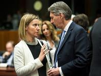 Reuters сообщает, что Керри встретится с главой европейской дипломатии Федерикой Могерини и министром иностранных дел Великобритании Филипом Хаммондом
