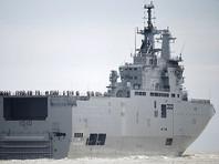 Франция передала Египту вертолетоносец Mistral, предназначавшийся России