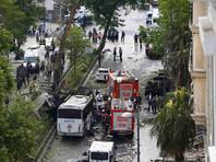 В Стамбуле взорвался начиненный взрывчаткой автомобиль