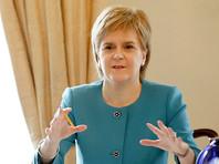 Шотландия может блокировать выход Британии из Евросоюза через свой парламент, заявила Стерджен