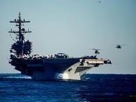 Американские истребители нанесли удары по объектам ИГ с авианосца в Средиземном море