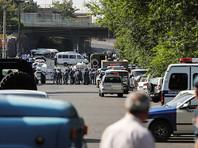 В Ереване в ходе разгона демонстрантов задержаны 136 человек, пострадали журналисты