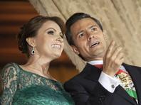 Осенью 2014 года мексиканская пресса сообщила, что приобретенный женой президента Анхеликой Риверой в престижном районе Мехико дорогой особняк якобы был куплен у компании, связанной с китайским консорциумом, который выиграл тендер на строительство