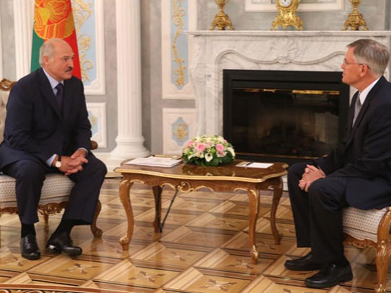 Встреча Александра Лукашенко с временным поверенным в делах США в Беларуси Скоттом Роландом