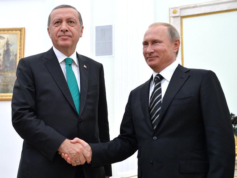 Анкара анонсировала скорую встречу президентов России Владимира Путина и Турции Реджепа Тайипа Эрдогана