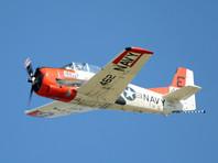 В Канаде на авиашоу разбился американский самолет Т-28 Trojan