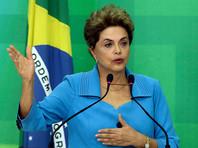 Временно отстраненная от должности президента Бразилии Дилма Русеф бойкотирует открытие Олимпиады в Рио