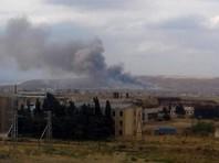 В азербайджанском Ширване на военном заводе прогремел взрыв и начался пожар