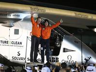 Самолет Solar Impulse 2 под управлением пилотов Андре Боршберга и Бертрана Пикара отправился в кругосветный полет из Абу-Даби 9 марта 2015 года. За это время экипаж сделал остановки в 15 странах мира