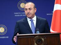 Глава министерства иностранных дел Турции Мевлют Чавушоглу