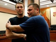 Алексей Навальный и Петр Офицеров, 19 июля 2013 года