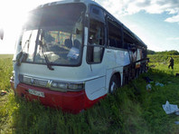 Россияне погибли в аварии с участием рейсового автобуса на трассе в Казахстане