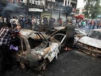 """В столице Ирака Багдаде возросло число жертв воскресного теракта, ответственность за который взяла на себя террористическая группировка """"Исламское государство"""" (ИГ, запрещена в России)"""