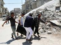 Авиаудар коалиции США в районе Алеппо унес жизни 56 мирных жителей