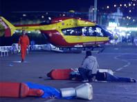 В Ницце грузовик врезался в толпу людей, вероятны десятки жертв
