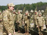 Украина отказалась от пятиконечных звезд на воинских погонах (ФОТО)