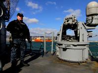 Латвийские военные снова заметили российский военный корабль возле своей границы
