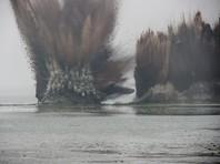 В Китае ради спасения от наводнения взорвали дамбу (ВИДЕО)