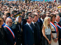 Премьера Франции освистали в Ницце, куда он прибыл почтить память жертв теракта