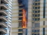 В Дубае загорелся 75-этажный небоскреб (ФОТО, ВИДЕО)