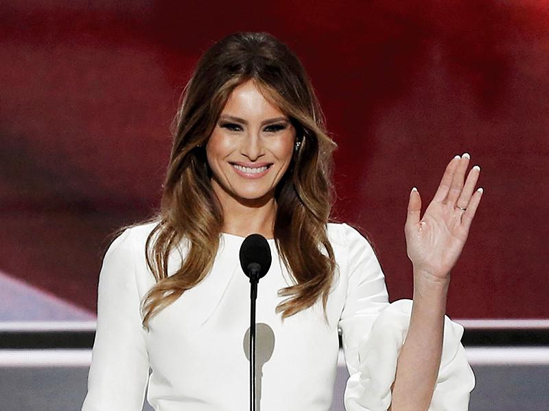 Супругу кандидата в президенты США Дональда Трампа после ее выступления на съезде Республиканской партии уличили в заимствованиях из речи нынешней первой леди Мишель Обамы