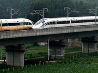 В Китае два сверхскоростных поезда установили мировой рекорд (ВИДЕО)