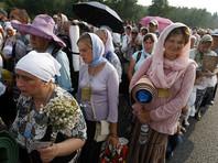 Обе колонны прибыли в Киев: западная пришла пешком, а участники восточной были доставлены в столицу на автобусах