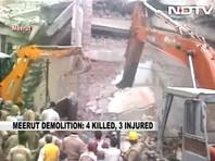 В Индии снесли торговый центр с людьми: есть жертвы, идет спасательная операция