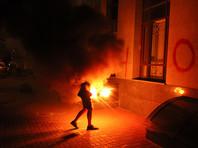Здание Россотрудничества в Киеве закидали файерами в день рождения осужденного в России Сенцова (ВИДЕО)