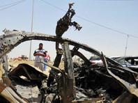 В иракском городе Эль-Халис взорвался заминированный автомобиль (ВИДЕО)