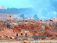 Сирийские боевики показали фото участка в Алеппо, где удалось прорвать блокаду города