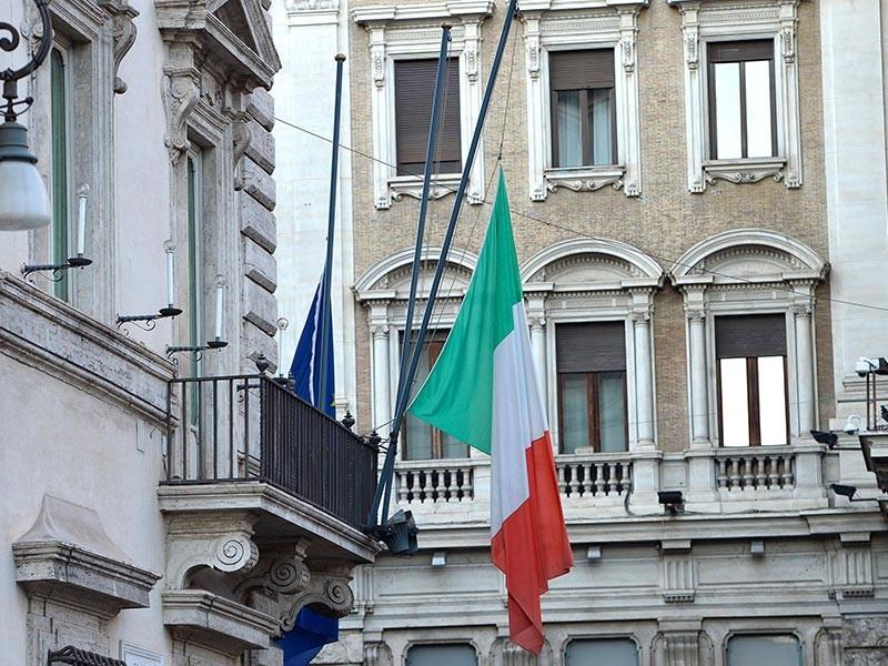 Национальный траур по жертвам разрушительного землетрясения объявлен в Италии в субботу
