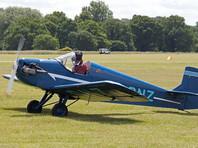 В Британии на авиашоу самолет упал в воду