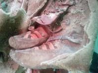 """Ученые в Монголии изучают 1,5-тысячелетнюю мумию """"в кроссовках"""""""