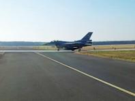 Польские  истребители F-16 перехватили российский самолет и заставили его приземлиться