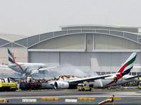 В Дубае при посадке загорелся самолет авиакомпании Emirates (ВИДЕО)