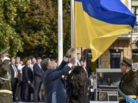 Порошенко в День флага Украины поставил задачу поднять его над Донбассом и Крымом