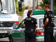 В Германии вооруженный мужчина забаррикадировался в пустом кафе
