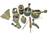 В наследстве бывшего строителя электростанции в Израиле оказалась коллекция древнейших артефактов